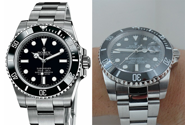Differences Between Rolex Submariner Replica Vs Real ...