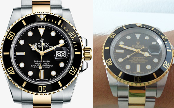 Differences Between Rolex Submariner Replica Vs Real Two Tone