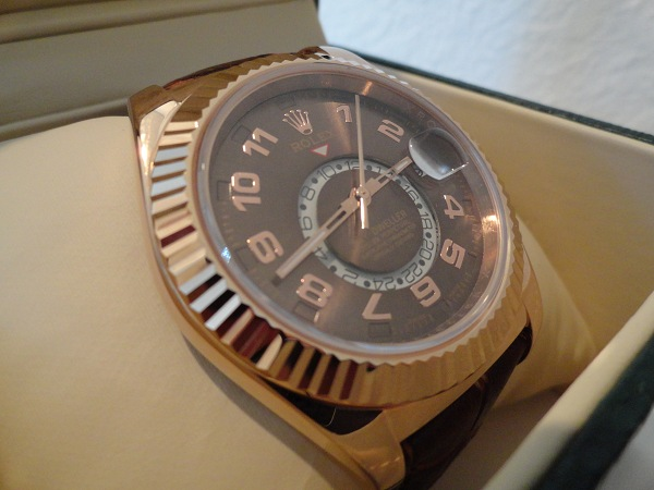 Rolex-Skydweller-Rose-Gold-Fake-Watch-Review