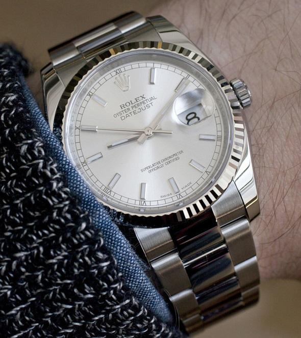 Rolex-Copy-Watches-Rolex-stainless-steel-Datejust