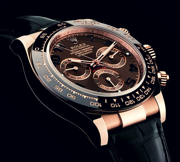 Rolex Replica – Rose Gold Rolex Daytona Replica