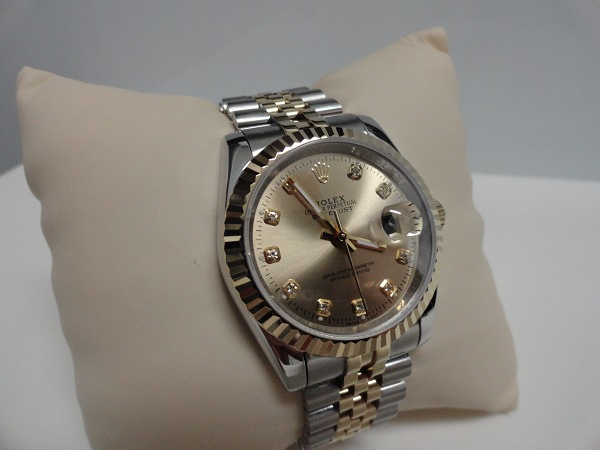 Champagne Dial On Two Tone Rolex Datejust Replica