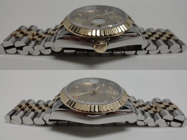 Fake Rolex Datejust – Side View