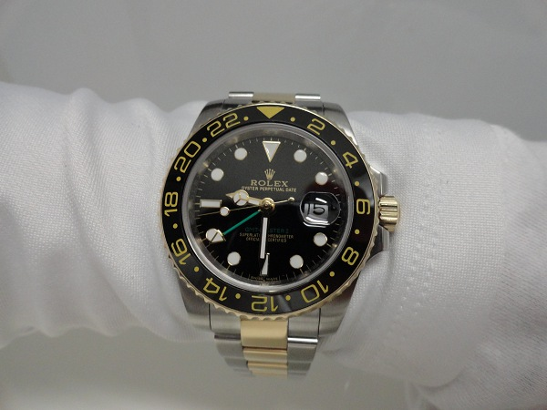 Rolex GMT Master II Replica Watch Photo Review Wrist