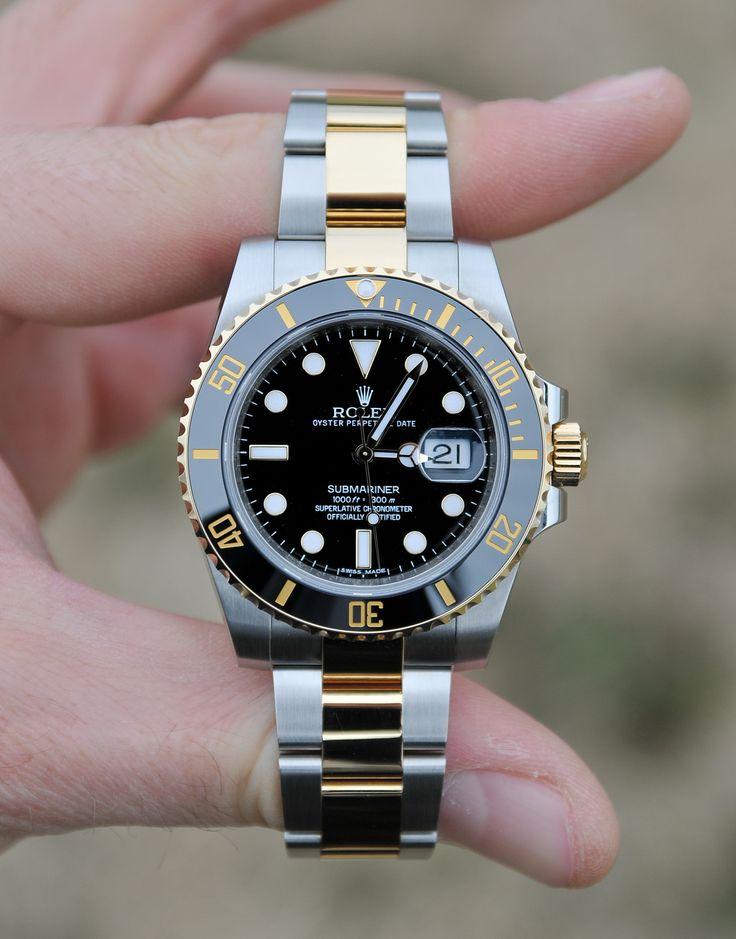 Rolex Submariner Black Index Dial Oyster Bracelet Mens