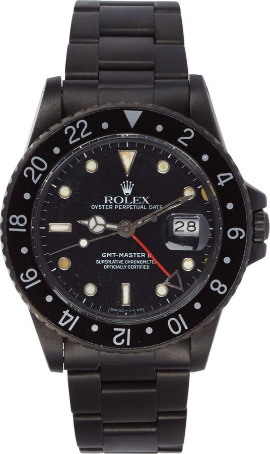 Black Limited Edition Replica Rolex GMT Master II Watch