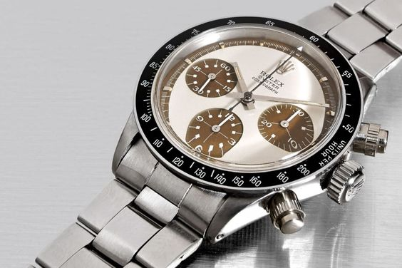 Rolex replica Daytona Paul Newman 6263 tropical Coffee