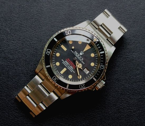Rolex Double Red Sea-Dweller replica