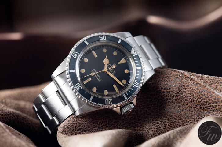 Rolex Submariner 5513 Automatic Ceramic Bezel
