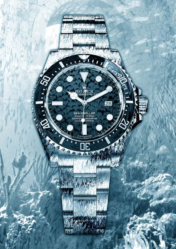 replica rolex sea-dweller 4000 watch