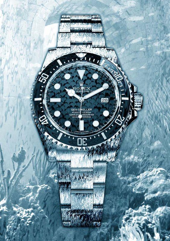 replica rolex sea-dweller 4000 watch