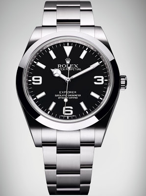 rolex explorer ii stainless steel black dial fake watch