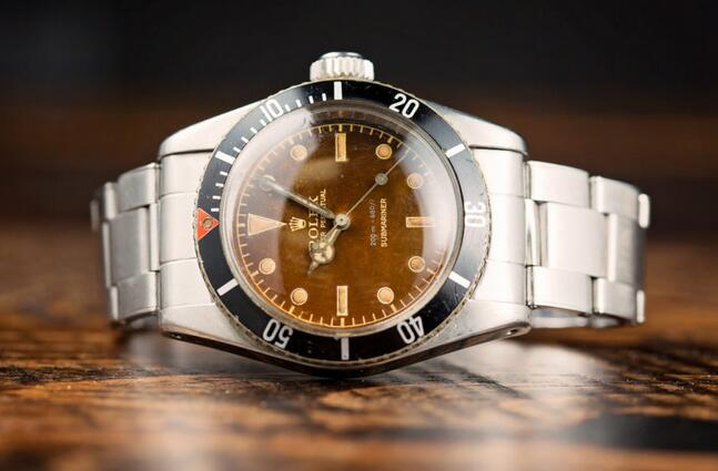 Cheap Swiss Fake Rolex Submariner 'Big Crown' Tropical Dial Ref. 6538 Watch With A Long History (And A James Bond 007 Connection)