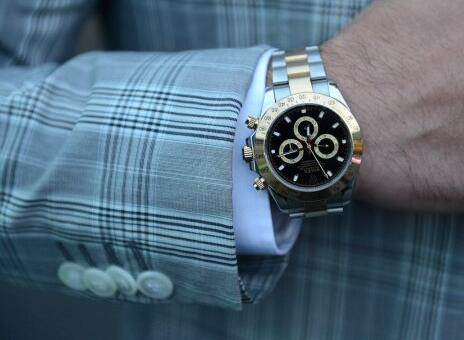 replica rolex daytona automatic with black dial