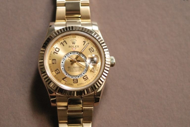 Fake-Rolex-Sky-Dweller-Front-View-768x512