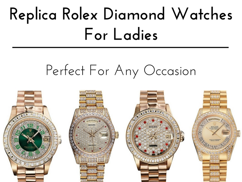 Replica-Rolex-Diamond-Watches-For-Ladies