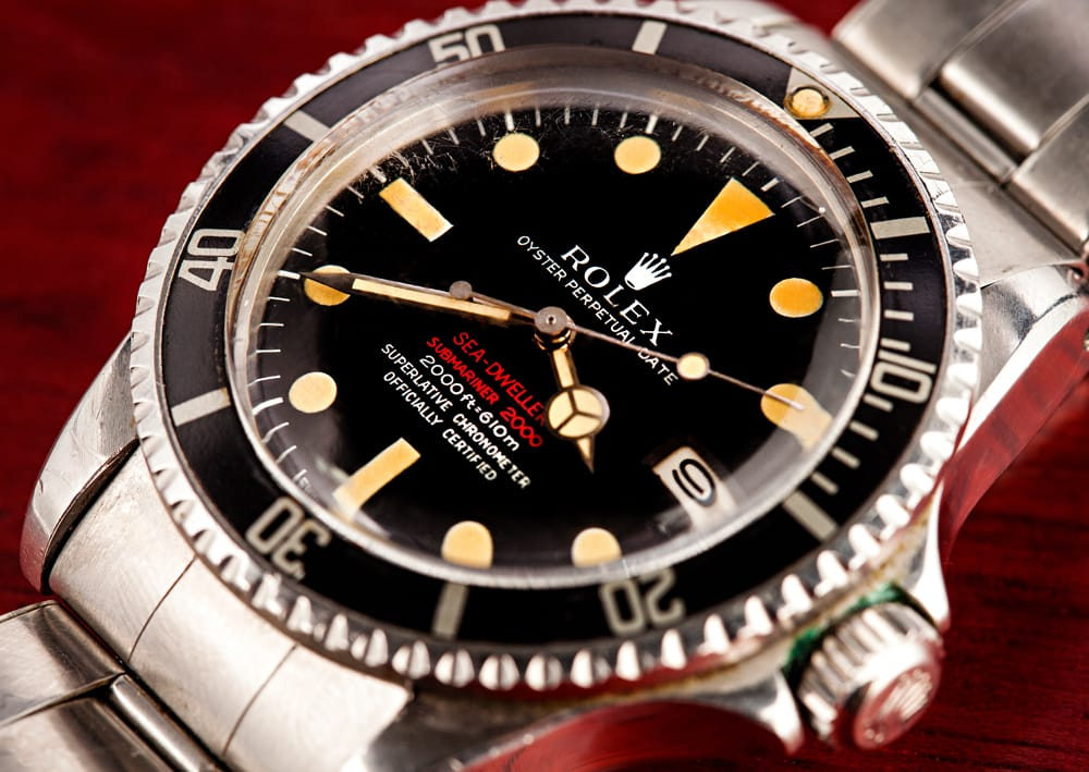 The First Rolex Replica Sea-Dweller: Double Red Sea-Dweller 1665