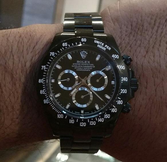 Rolex-Daytona-Ion-Plated-Black-Replica