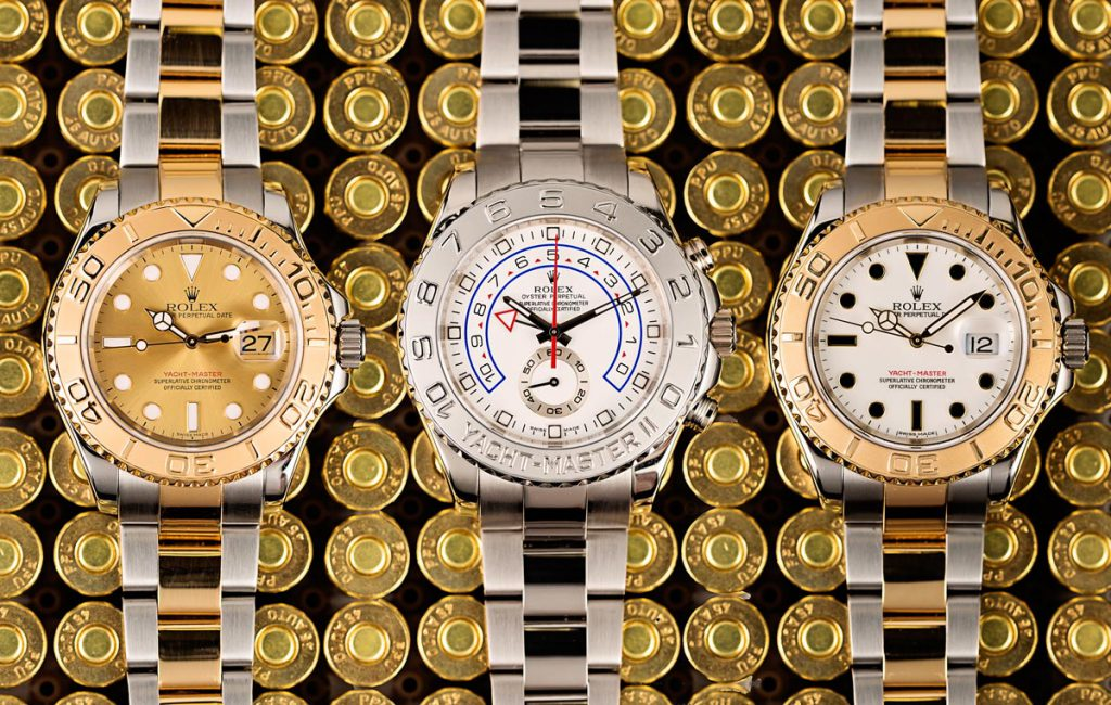 The Yacht-Master II Replica has a few additions to it from its predecessor.