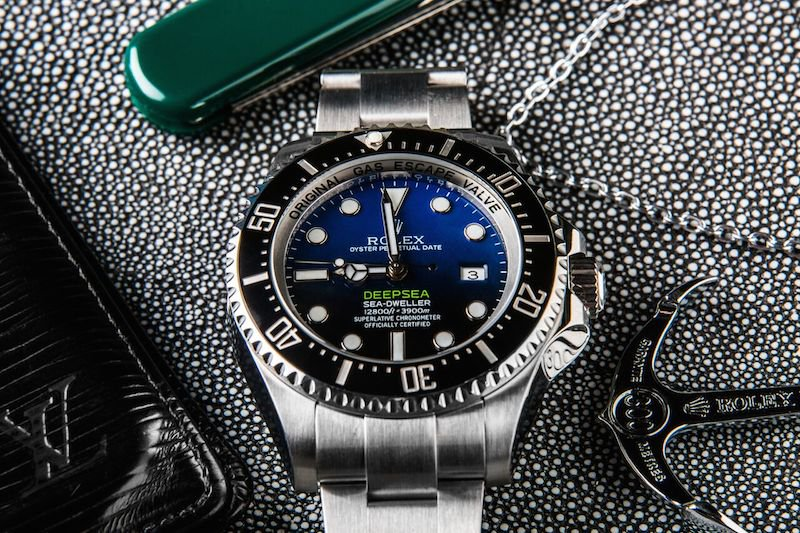 Rolex Deepsea Sea-Dweller Replica ref. 116660 with a D-blue dial.