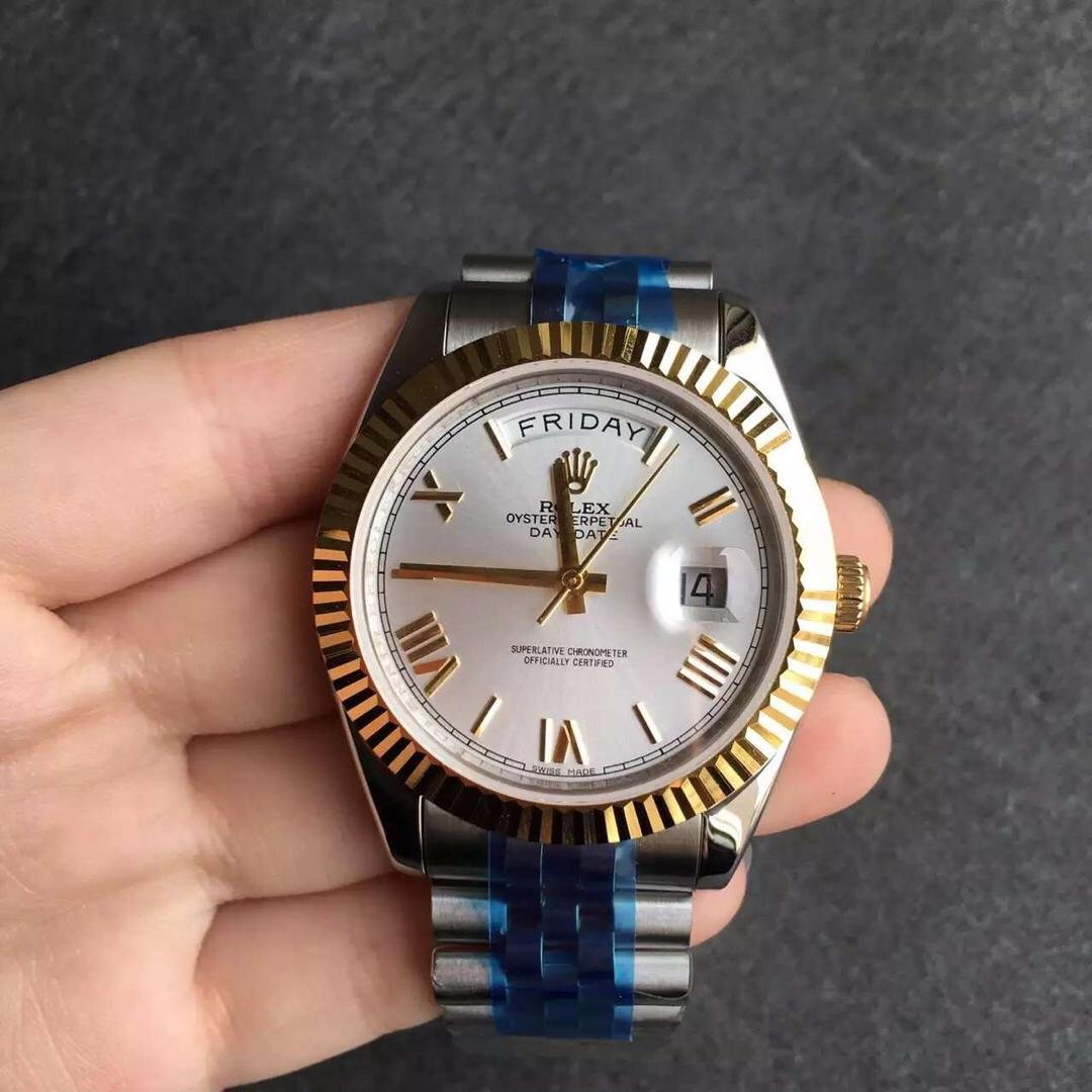 Replica Rolex Day Date 2 Two Tone 1