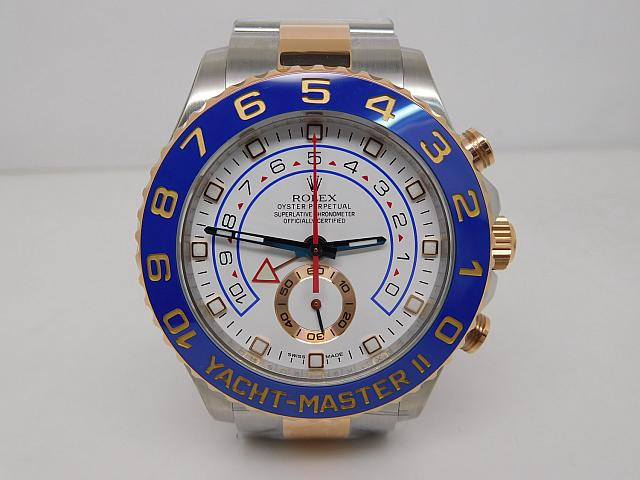 Best Replica Rolex YachtMaster II 116681 Two Tone Blue Watch Review