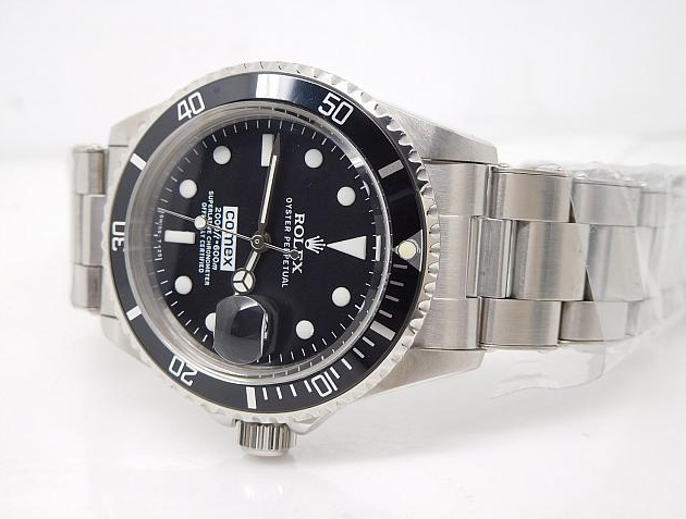 Rolex Submariner Black Bezel Replica