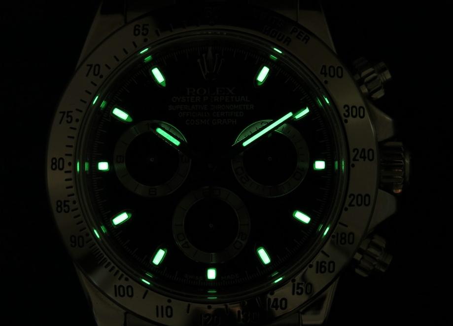 Rolex Daytona replica Lume