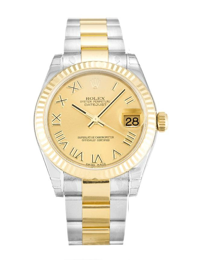 Champagne Dial Replica Rolex Datejust