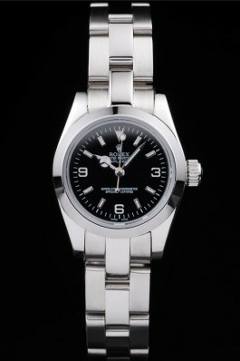 Black Dials Ladies Rolex Explorer Replica