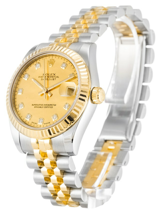 Gold Dials Rolex Lady Datejust Replica
