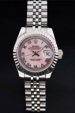 Pink Dials Rolex Datejust Replica