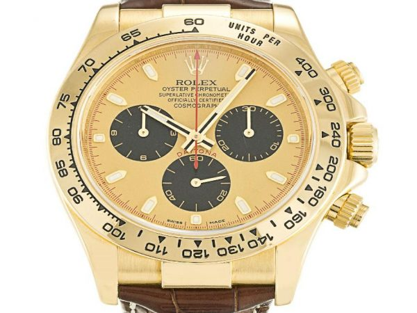 40MM Yellow Gold Rolex Daytona Replica