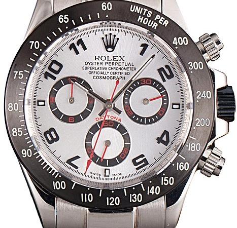 Rolex Daytona Stainless Steel White Dial Rolex Daytona Replica