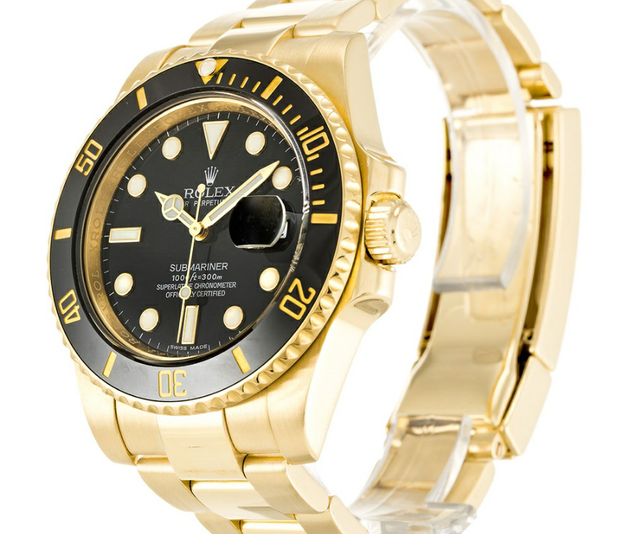 Black Baton Dial Rolex Submariner Replica