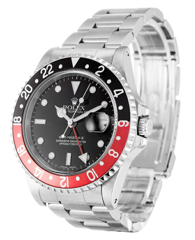 Black Dial Rolex GMT Master II Replica