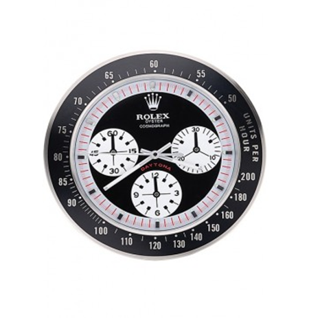 Rolex Daytona Cosmograph wall clock black red 622480 replica