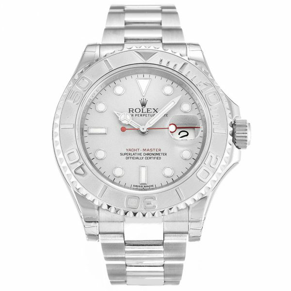 Replica Rolex Yachtmaster Silver 116622 Review