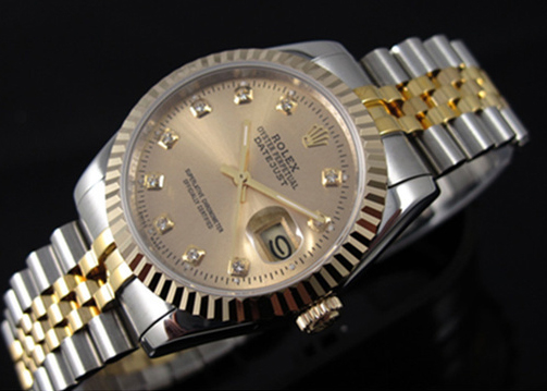 Rolex Datejust Gold Mens Replica